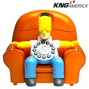 Homer Simpson Phone