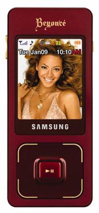Samsung Beyonce B'Phone (Image via Samsung)