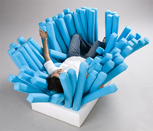 Bristle Sofa (Image courtesy Bucks New University)