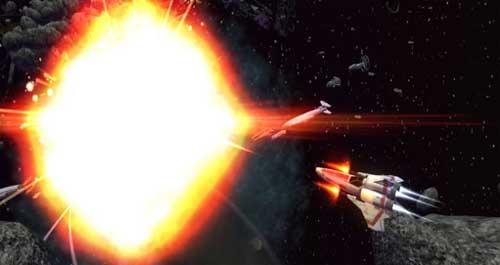Battlestar Galactica Arcade Game (Image via BSGArcade)