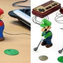 Miniature, Remote Control Mario & Luigi Golfers