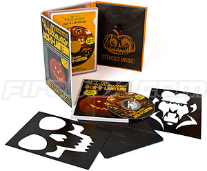 Hallowe'en Jack-O-Lantern DVD (Image courtesy Firebox)