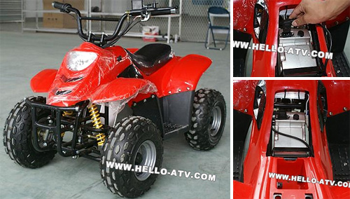 HOMO AE4 ATV (Images courtesy Hello ATV)