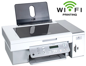 Lexmark X4550 All-In-One Wireless Printer (Image courtesy Lexmark)