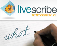 Livescribe (Images courtesy Livescribe Inc.)