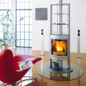 Max Blank Rotating Wood Stoves