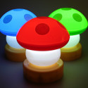 Mushroom Lamps – Extra Light Yes, Extra Life No