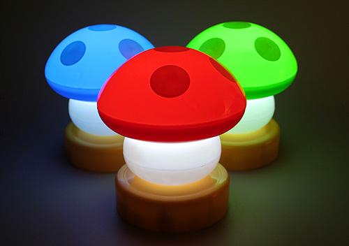 Mushroom Lamps (Image courtesy Brando.com.hk)