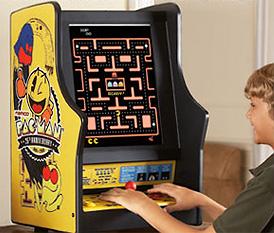 Pac-Man/Galaga Tabletop Game (Image courtesy Brookstone)