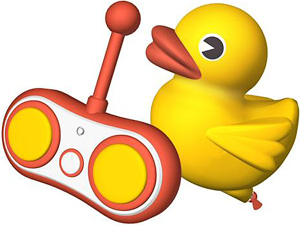 Remote Control Rubber Duck (Image courtesy Play.com)