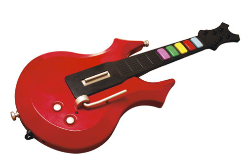 Shredmaster JR Micro Plug N Play Guitar (Image via dreamGear)