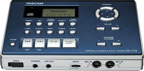 Tascam CD-VT2 (Image courtesy Tascam)