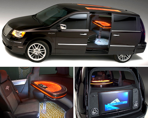 Chrysler Town And Country Black Jack Edition (Images courtesy Autoblog)