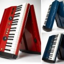 Vax 77 Keyboard Folds Up For Easy Transporting