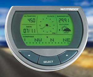 Wayfinder V7500 Compass (Image courtesy SkyMall)