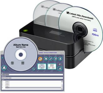Casio CD Label Printer