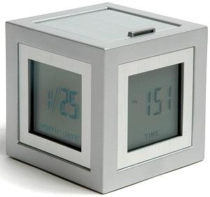 Cubissimo Alarm Clock (Image courtesy MCA)