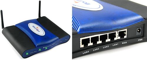 Extreme Range WiFi Router (Images courtesy ThinkGeek)