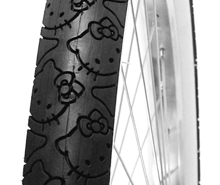 Hello Kitty Bicycle Tires (Image courtesy Nirve Sports)