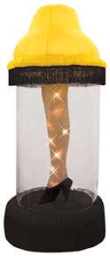 Inflatable Leg Lamp (Image courtesy Things You Never Knew Existed)