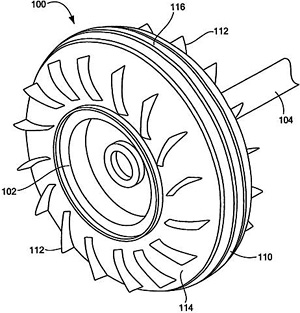 Landing Gear Wheels With Side-Mounted Airfoils (Image courtesy WPIO)