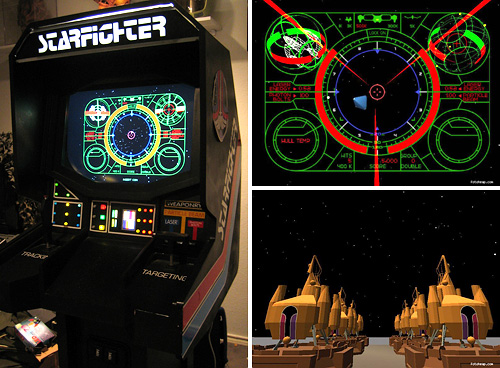 Last Starfighter Game Cabinet (Images courtesy Rogue Synapse)