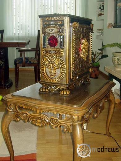 ukrainian woodwork case mod
