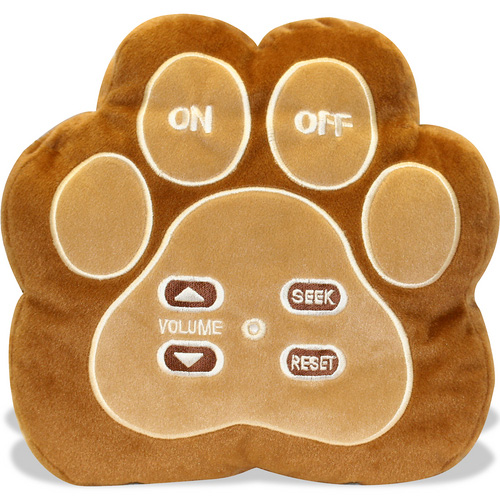 Plush Radio Cushion (Image courtesy eToys)
