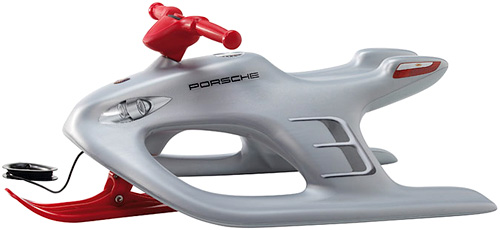 Porsche Design Kinderbob Sled (Image courtesy Porsche Design)