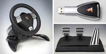 fanatec porsche wheel turbo nordschleife edition ohgizmo. Black Bedroom Furniture Sets. Home Design Ideas
