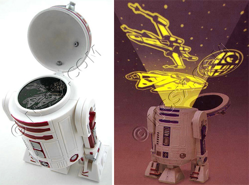 Star Wars R2-D2 Night Projector (Images courtesy NCSX)