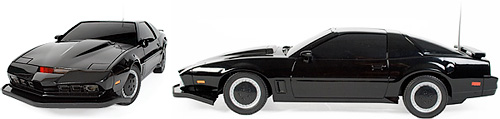 Remote Control Knight Rider (Images courtesy Firebox)
