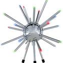 Sputnik-esque Satellite Lamp