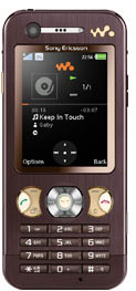 Sony Walkman W890i Phone (Image via Sony Ericsson)