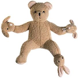 TeddyBearBand (Image courtesy Philippe Starck)