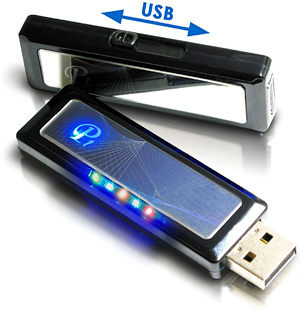 TwinMOS Mirror-Surface Flash Drive (Image courtesy AVING USA)