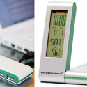 4-Port USB Hub & Alarm Clock