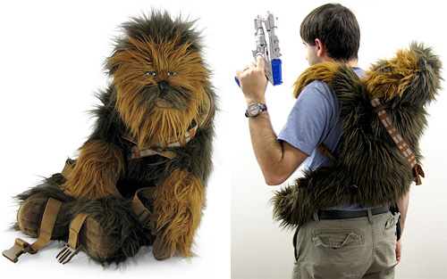 Chewbacca Plush Backpack (Images courtesy ThinkGeek)