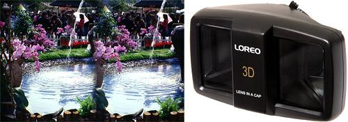 Loreo 3D Lens Cap (Images courtesy Loreo Asia)