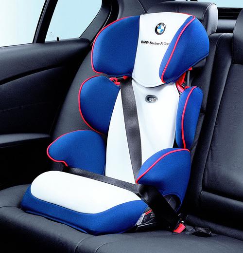 BMW Sauber F1 Child Seat (Image courtesy CarScoop)