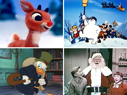 Christmas Videos (Images courtesy their respective owners)