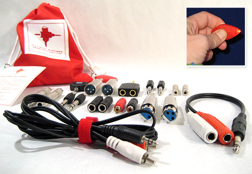 Electronic Musician's Emergency Adapters (Images courtesy  EMEA & Gear Diary)