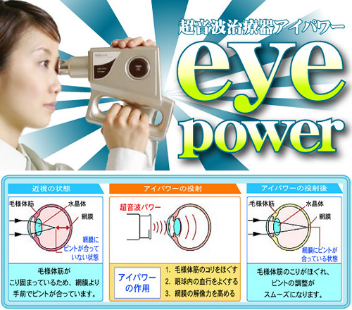 Eye Power (Images courtesy Rakuten)