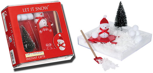 Let It Snow Executive Sandbox Desk Toy (Image courtesy MerlinsBox)