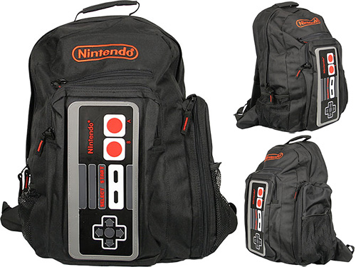 Nintendo Controller Back Pack (Images courtesy 80sTees)