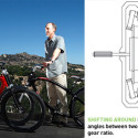 'The Ride' Bicycle Has An Infinite Number Of Gears (Thanks To da Vinci)