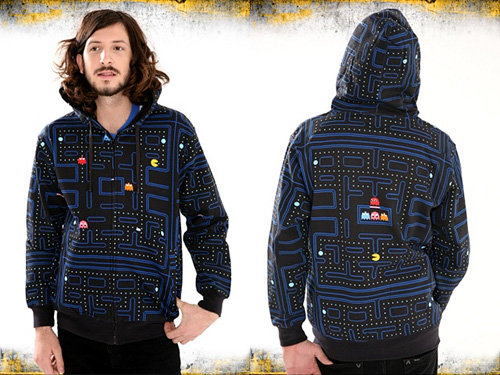 Pac-Man Maze Hoodie (Images courtesy Hot Topic)