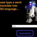 R2D2 Online Translator