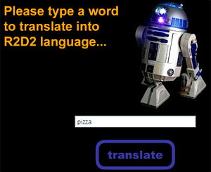 R2D2 Translator (Image courtesy R2D2Translator.com)