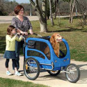Solvit Jogging Kit Turns Pet Trailer Into A Jogger